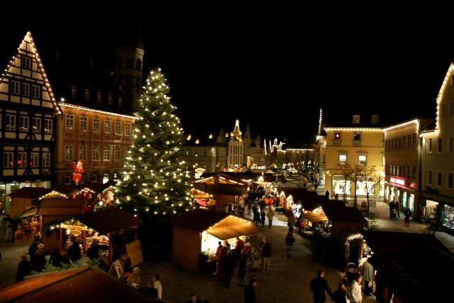 Schwäbisch Gmünd Weihnachtsmarkt.Stimmungsvolle Atmosphäre Und Ein Tolles Rahmenprogramm Erwartet Die